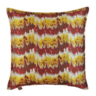 Sherry Kline 20-inch Dominion Red Decorative Feather and Down Throw Pillow