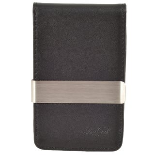 Zodaca Slim-fit Genuine 100% Leather Detachable Money Clip Wallet with 4 Card Slots