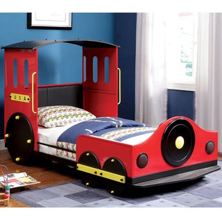 Furniture of America Train Locomotive Metal Youth Bed