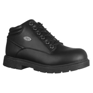 Lugz Men's 'Monster Mid' Slip-resistant Black Ankle Boots