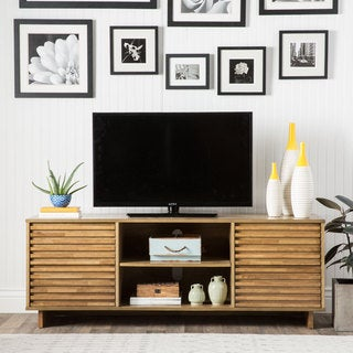 Array Home Oak Entertainment Center