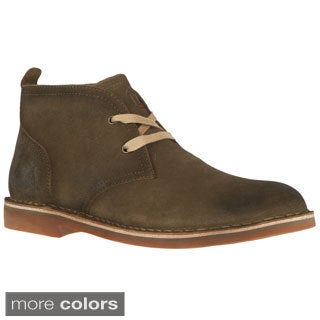 NYLC by Lugz Men's 'Grant' Lace-up Suede Boots