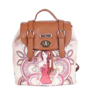 Nicole Lee Marina Print Backpack