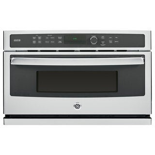 GE Profile Series Stainless Steel Built-in Microwave Oven