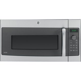 GE Stainless Steel Over-the-Range Microwave Oven with 1.7 Cubic Feet Capacity