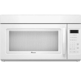 Amana Over-the-Range White 1.7 cubic feet Microwave Oven