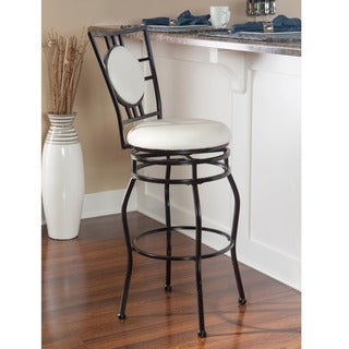 Oh! Home Townsend Black Adjustable Stool