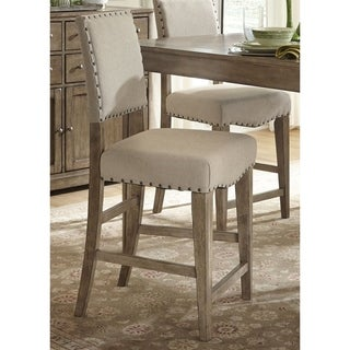 Liberty Weatherford Upholstered Nail Head Bar Stool