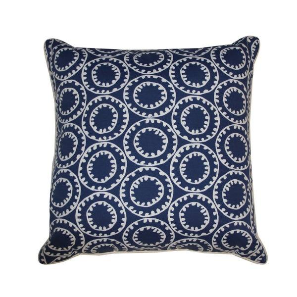 Jiti Dunkin Navy Throw Pillow