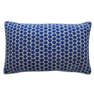 Jiti Splotch Blue Pillow