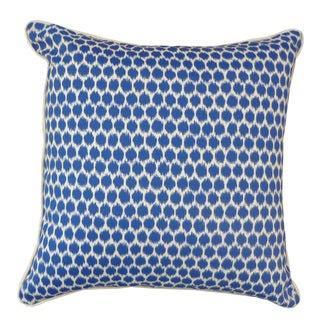 Splotch Blue Pillow