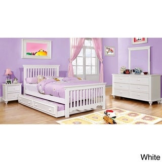 Furniture of America Terry 4-piece Country Style Youth Bedroom Set
