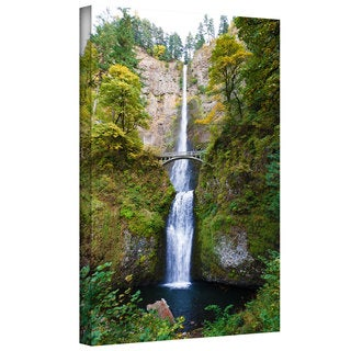 Cody York 'Multnomah Falls' Gallery-wrapped Canvas