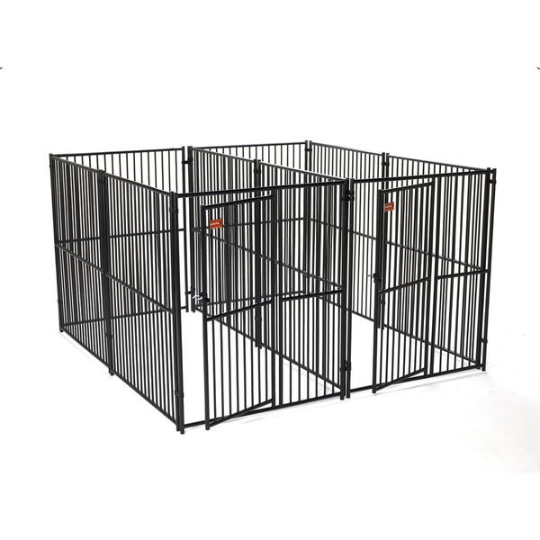 Lucky Dog European Style 2-run Dog Kennel