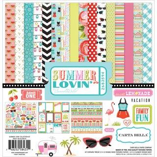 Carta Bella Collection Kit 12inX12in-Summer Lovin'