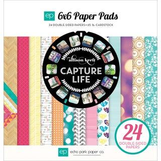 Echo Park Paper Pad 6inX6in 24/Pkg-Capture Life