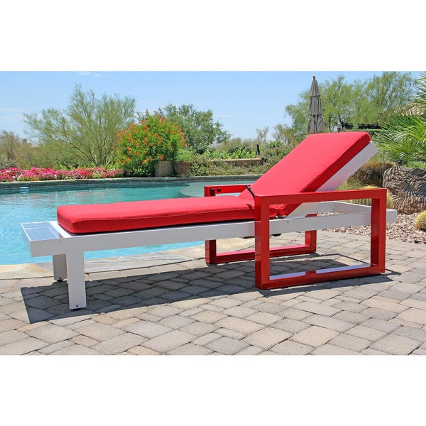 solar powered lounge chair with refreshing cooling mist overstock
