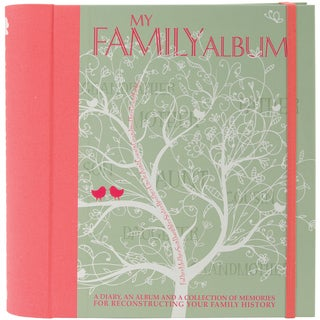 White Star Publishing Books-My Family Album