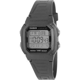 Casio Men's Core W800H-1AV Black Resin Quartz Watch with Digital Dial
