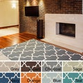 Artistic Weavers Hand-tufted Jennifer Moroccan Tiled Wool Area Rug (5' x 8')