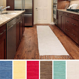 Artistic Weavers Hand-woven Sam Solid Cotton Area Rug (1'10 x 6')