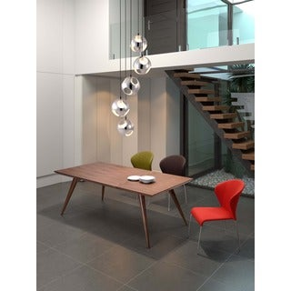 Zuo Stockholm Walnut Dining Table