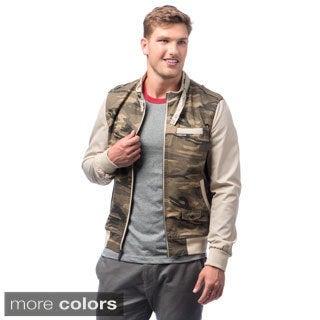 Men's Camouflage Racer Jacket