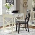 Simple Living Antique White X Desk