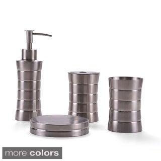 Stainless Steel Bath Accessory 4-piece Set