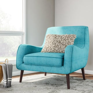 Oxford Teal Modern Accent Chair