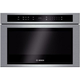 Bosch 800 Series 24-inch Stainless Steel Built-in Microwave Drawer