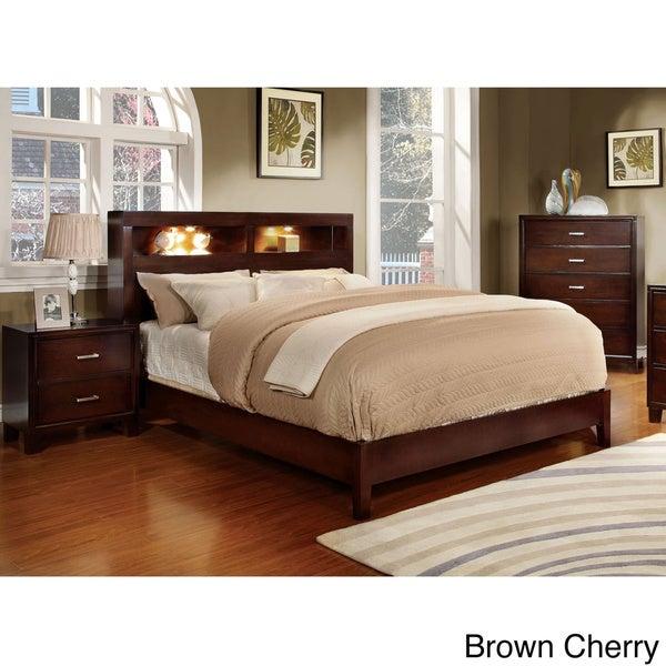 Furniture Of America Clement 3 Piece Platform Bedroom Set