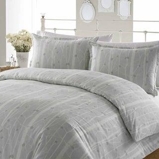 Laura Ashley Cottonwood Cotton 3-piece Duvet Cover Set