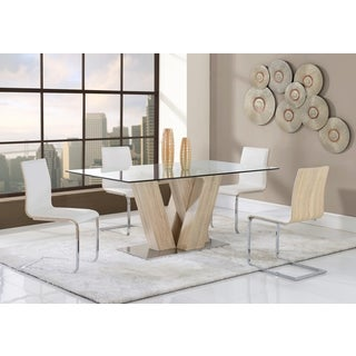 Sonoma Paper White Dining Table
