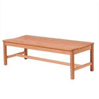 Wood Backless 5-foot Bench