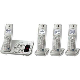 Panasonic Link2Cell KX-TGE274S DECT 6.0 1.90 GHz Cordless Phone - Sil