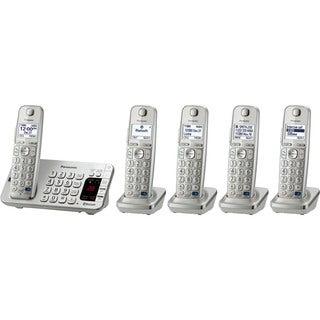 Panasonic KX-TGE275S DECT 6.0 1.90 GHz Cordless Phone - Silver