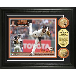MLB Tim Lincecum No-Hitter Gold Coin Photo Mint