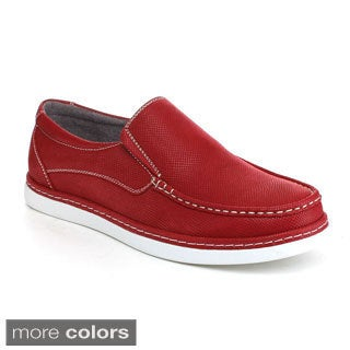 Arider Men's 'Carson-2' Topstitched Slip-on Loafers
