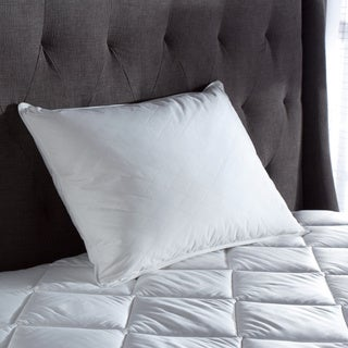TRUMP Home Quilted White Down and Feather Blend Pillow