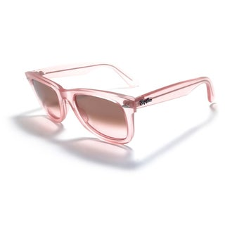Ray-Ban Ice Pops Wayfarer 50mm Sunglasses - Pink Frame, Gradient Grey Lens