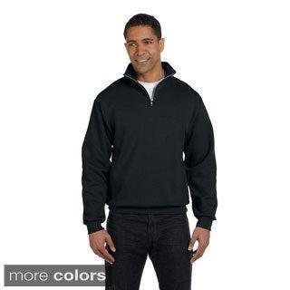Men's 50/50 NuBlend Quarter-zip Cadet Collar Sweatshirt