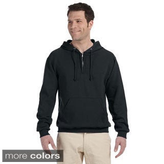 Men's 50/50 NuBlend Fleece Quarter-zip Pullover Hoodie