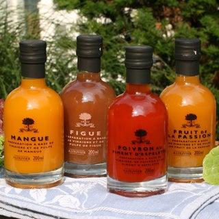 A l'Olivier Fruit Vinegar (Set of 4)