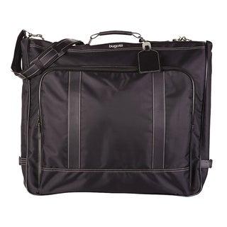 Bugatti Black Nylon Garment Bag