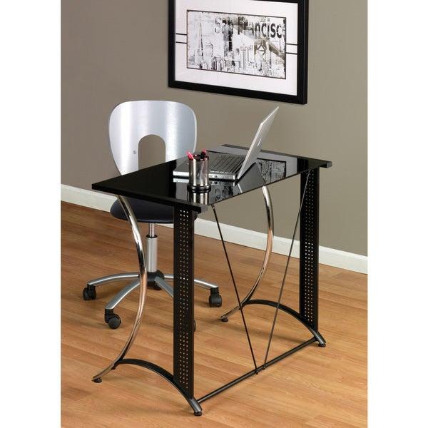 Calico Designs Chrome Monterey Desk