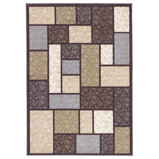 Signature Designs by Ashley Keswick Brown/ Multi Geometric Area Rug (5' x 7')