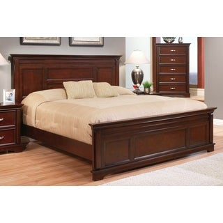 ABBYSON LIVING Tuscany Cappuccino Wood Platform Bed