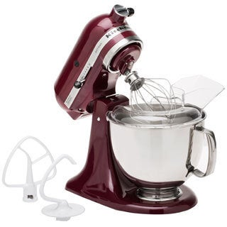 KitchenAid KSM150PSBX Bordeaux 5-quart Artisan Tilt-head Stand Mixer **with $30 Mail-in Rebate**