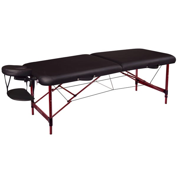 Master 28 inch lightweight zephyr portable massage table package overstock shopping big - Portable massage table walmart ...